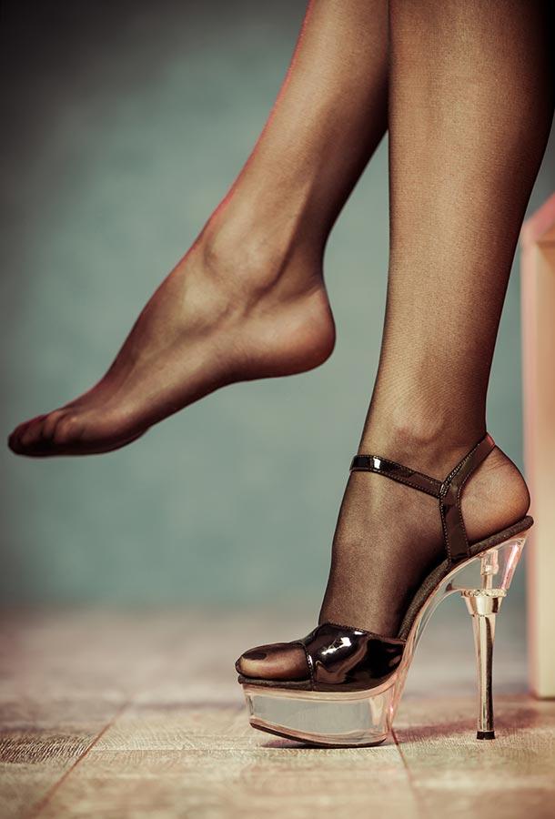 Nylon-Fetisch - Foot-to-Body